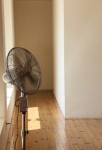 2階リビング暑い画像
