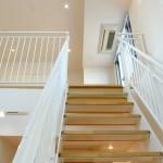 リビング階段 冷房対策画像
