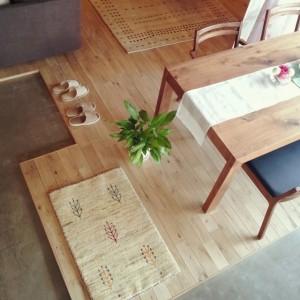 メープルの床 キッチン画像