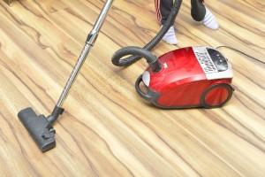 ノンワックスフローリング 掃除方法画像