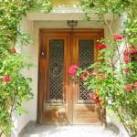 ヤマハ木製玄関ドア画像