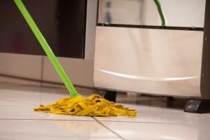 キッチン床タイル画像