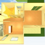 注文住宅L字イメージ1階画像