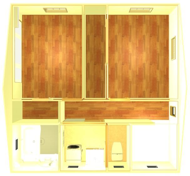 正方形2Fイメージ画像