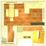 正方形1Fイメージ画像