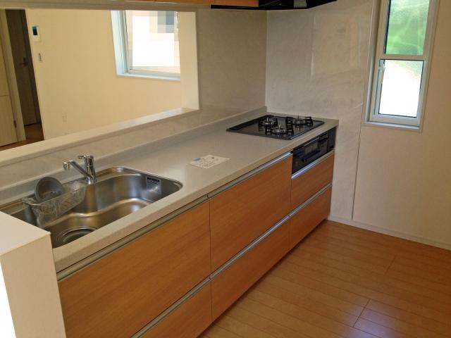 キッチン床色画像