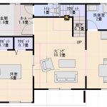1階寝室間取り図画像