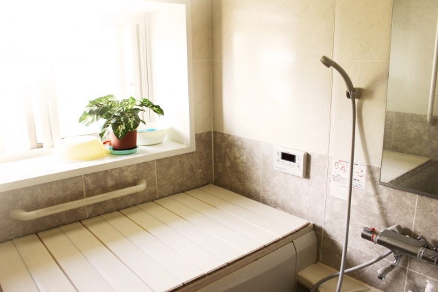 浴室の目隠し画像