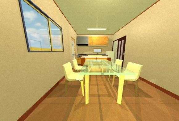 キッチン間取り画像3