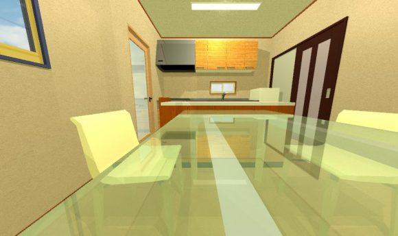 キッチン間取り画像1
