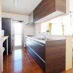 一条工務店 キッチン 収納イメージ画像